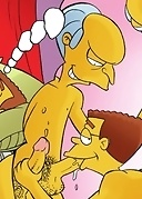 Simpsons give in to mind-blowing gay sex frenzy